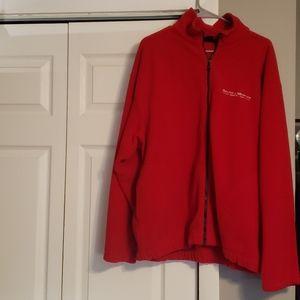 Men's fleece zip up jacket